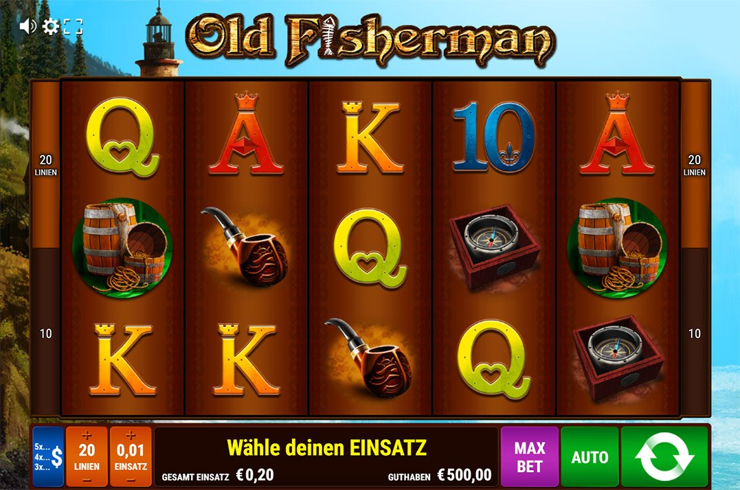 Spiele Old Fisherman - Video Slots Online