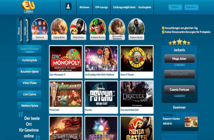 Neu Online Casino