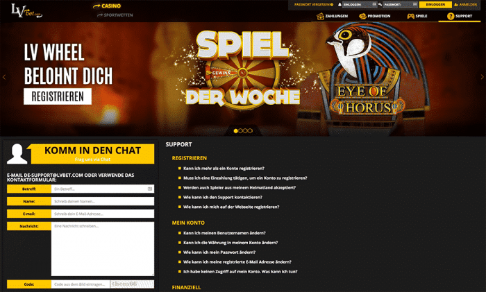 Online Casino LvBet