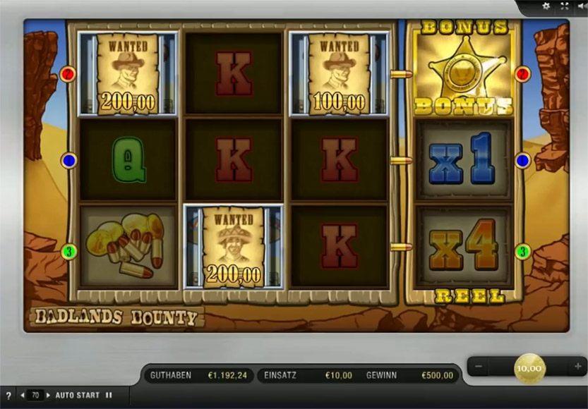 Spiele Badlands Bounty - Video Slots Online