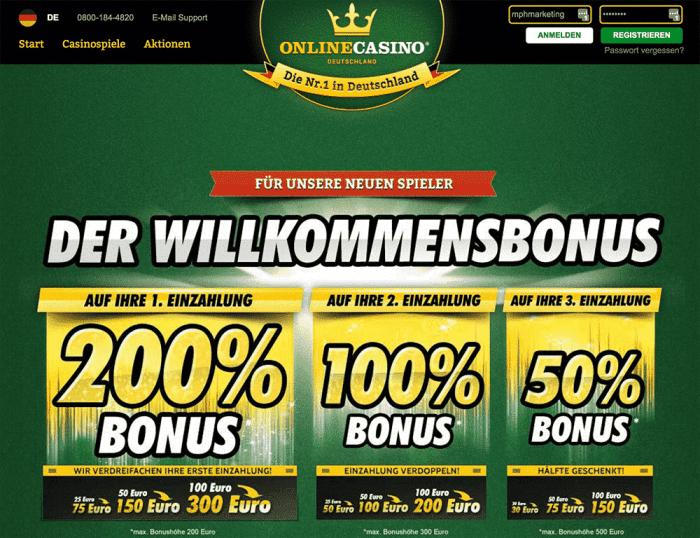 Online Casino .De