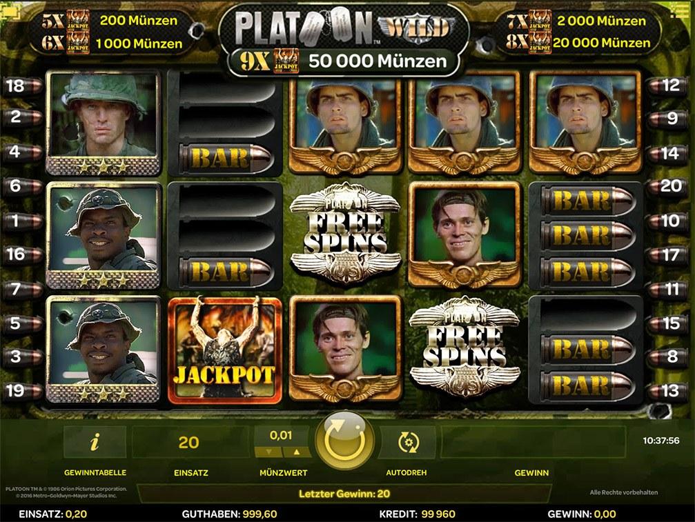 Spiele Platoon - Video Slots Online