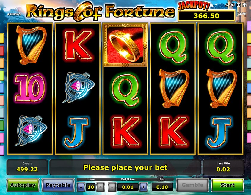 Spiele Rings Of Fortune - Video Slots Online