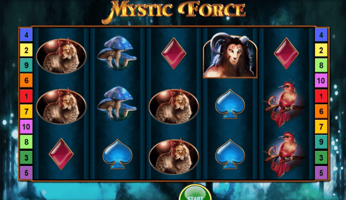 mystic force bally
